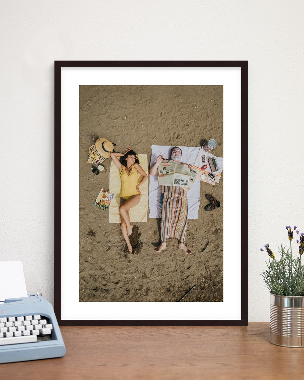 Rahmen: Braun - On the Beach - Sixties Project
