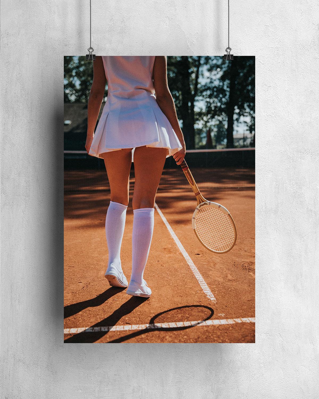 Poster - Retro Tennis 2 1960-09-05
