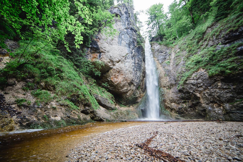 Der Plötz Wasserfall