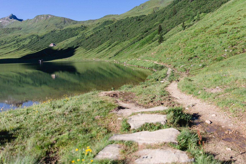 Weg zur Tappenkarseehütte