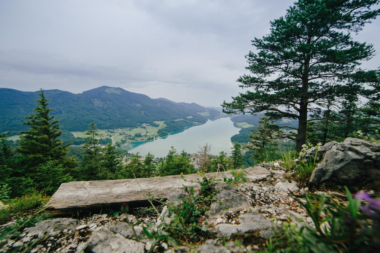Ellmaustein Wanderung Panorama