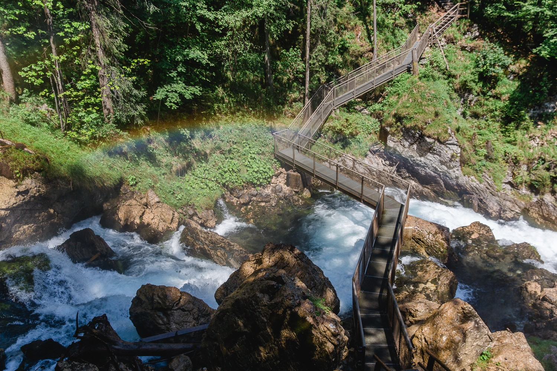 Gollinger Wasserfall Brücke