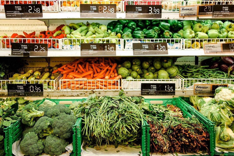 Gemüseabteilung