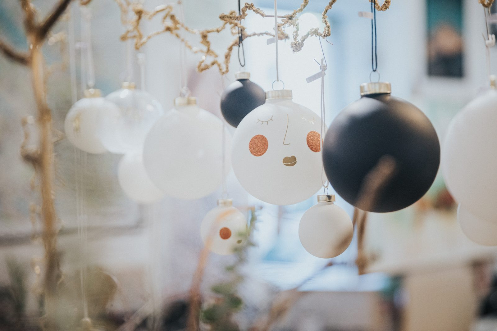 Weihnachtskugel - Dekoration
