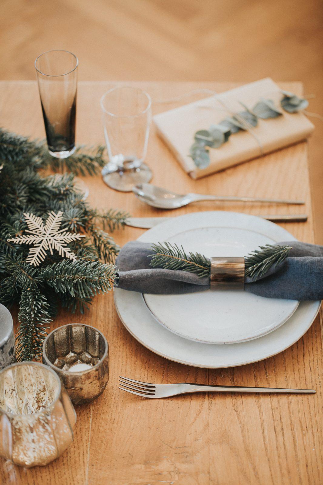 Weihnacht - Tischdekoration